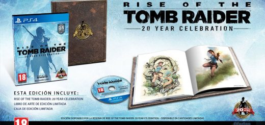 que incluye rise of the tomb raider edición 20 aniversario ps4