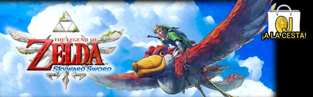 Oferta Zelda Skyward Sword para Wii por 29,95€