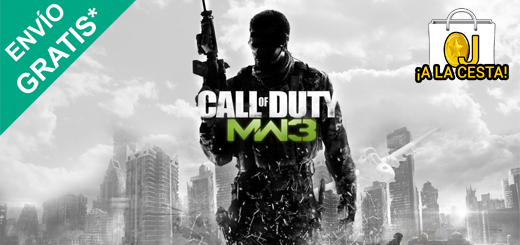 Call of Duty Modern Warfare 3 para PS3 y Wii 15€, para Xbox 360 por 19,95€