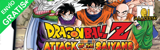 Oferta Dragonball Z Attack of the Saiyans para Nintendo DS por 20,01
