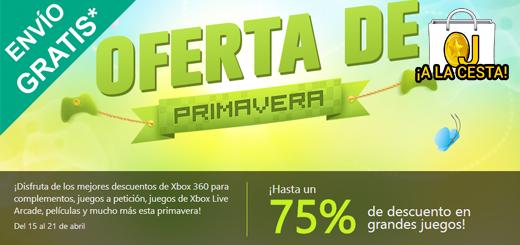 Ofertas de Primavera en Xbox Live