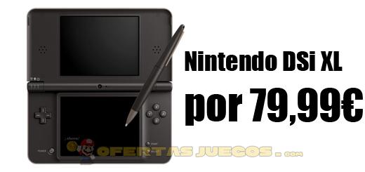 Nintendo DSI XL por 79,99€ y envío gratis