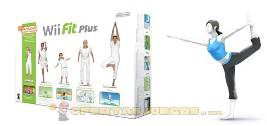 WiiFit al mejor precio. Wii Fit Plus + Balance Board por 48,93€