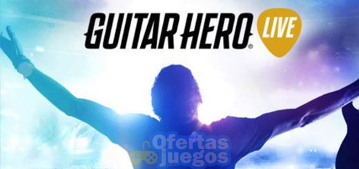Guitar Hero Live ¡Baja a 19,90€ en PS4!