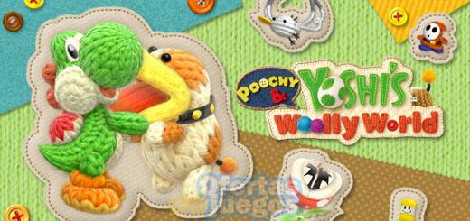 Poochy & Yoshi's Woolly World ¡Mejores precios de lanzamiento!