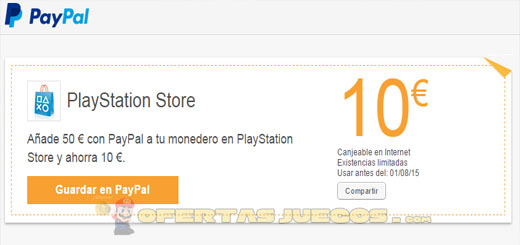 cupon-10-euros-paypal-playstation-store