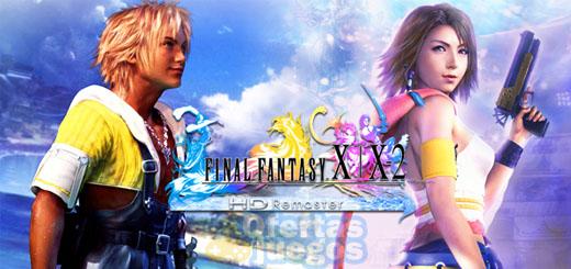 oferta final fantasy X X2 HD remastered