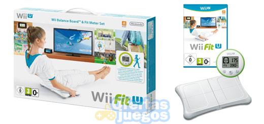 Wii Fit U + Fit Meter + Balance Board por 49,99€