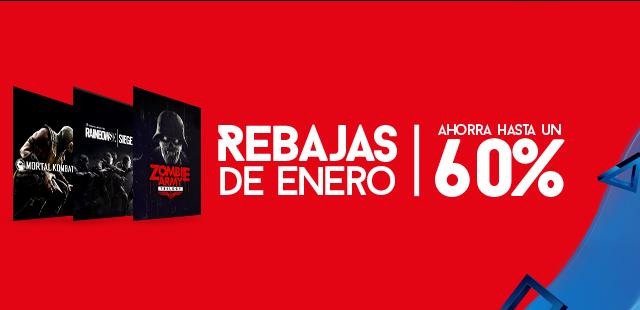 Rebajas PS Store enero