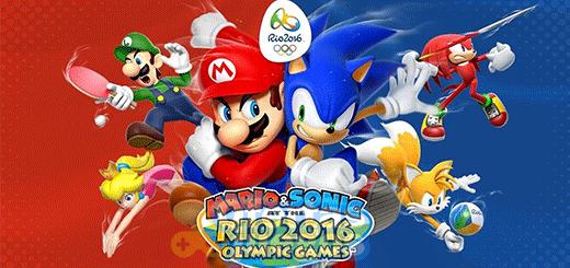 Mario y Sonic en los Juegos Olímpicos Rio 2016 ¡Baja en Wii U!
