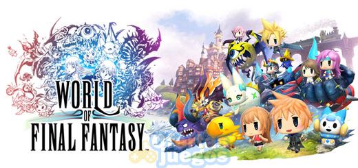 World of Final Fantasy ¡Baja a 34,95€!