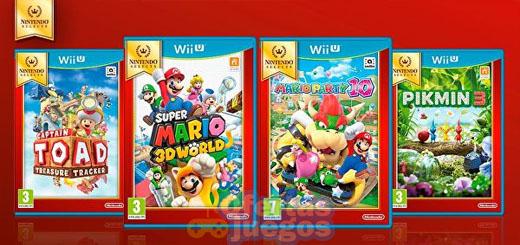 Nintendo Selects para Wii U ¡Nueva oleada con Captain Toad, Super Mario 3D World, Mario Party 10 y Pikmin 3!