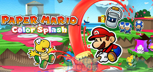 Paper Mario Color Splash ¡Baja a 19,95€!