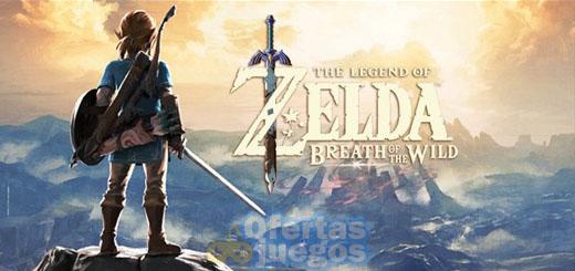 comprar Zelda Breath of the Wild barato mejor precio