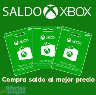 Saldo Xbox Live ¡Compra juegos y DLC digitales a mejor precio!