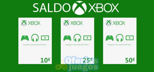 comprar saldo Xbox live barato mejor precio