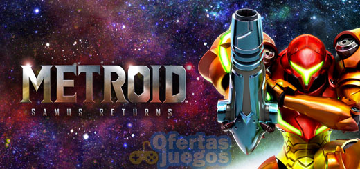 Metroid Samus Returns ¡Petate de regalo!