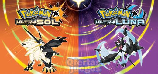 Pokémon Ultrasol y Ultraluna ¡Baja a 36,90€, 34,90€ si eres Prime!