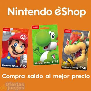 Saldo para eShop ¡Mejores precios!