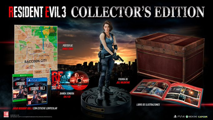Donde reservar edición coleccionista Resident EVil 3 Collectors edition