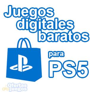 Donde comprar juegos digitales baratos para PS5