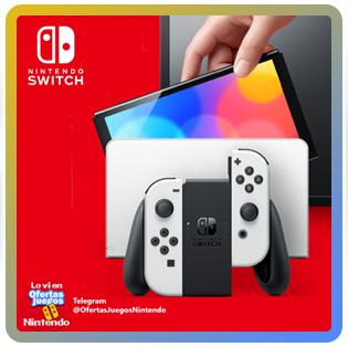 Nintendo Switch OLED ¡Ya la puedes reservar!