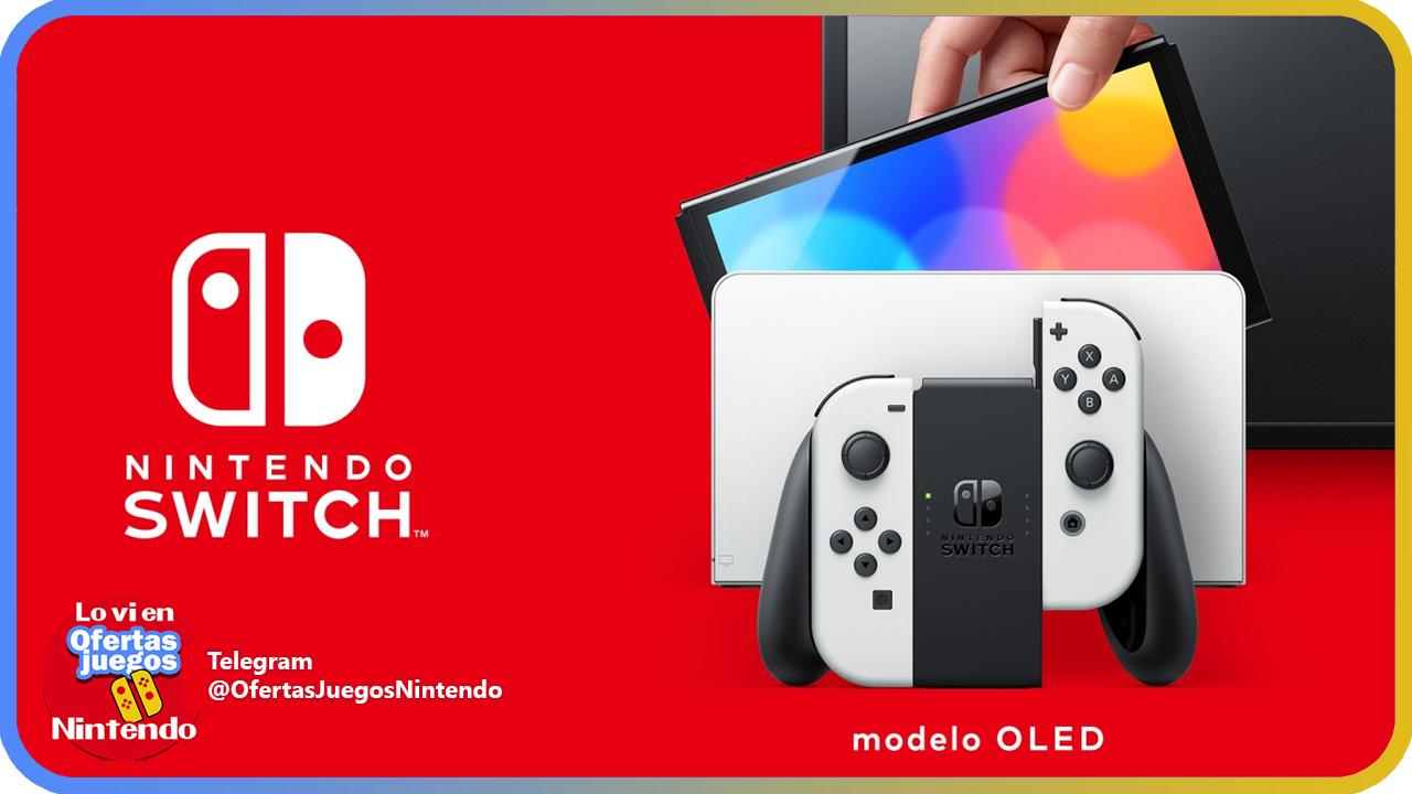 Te avisamos cuando se pueda reservar la Nintendo Switch OLED