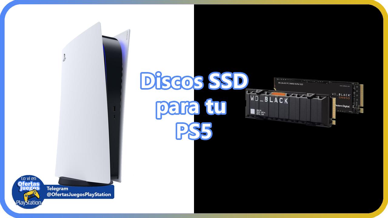 Los mejores discos duros SSD para tu PS5