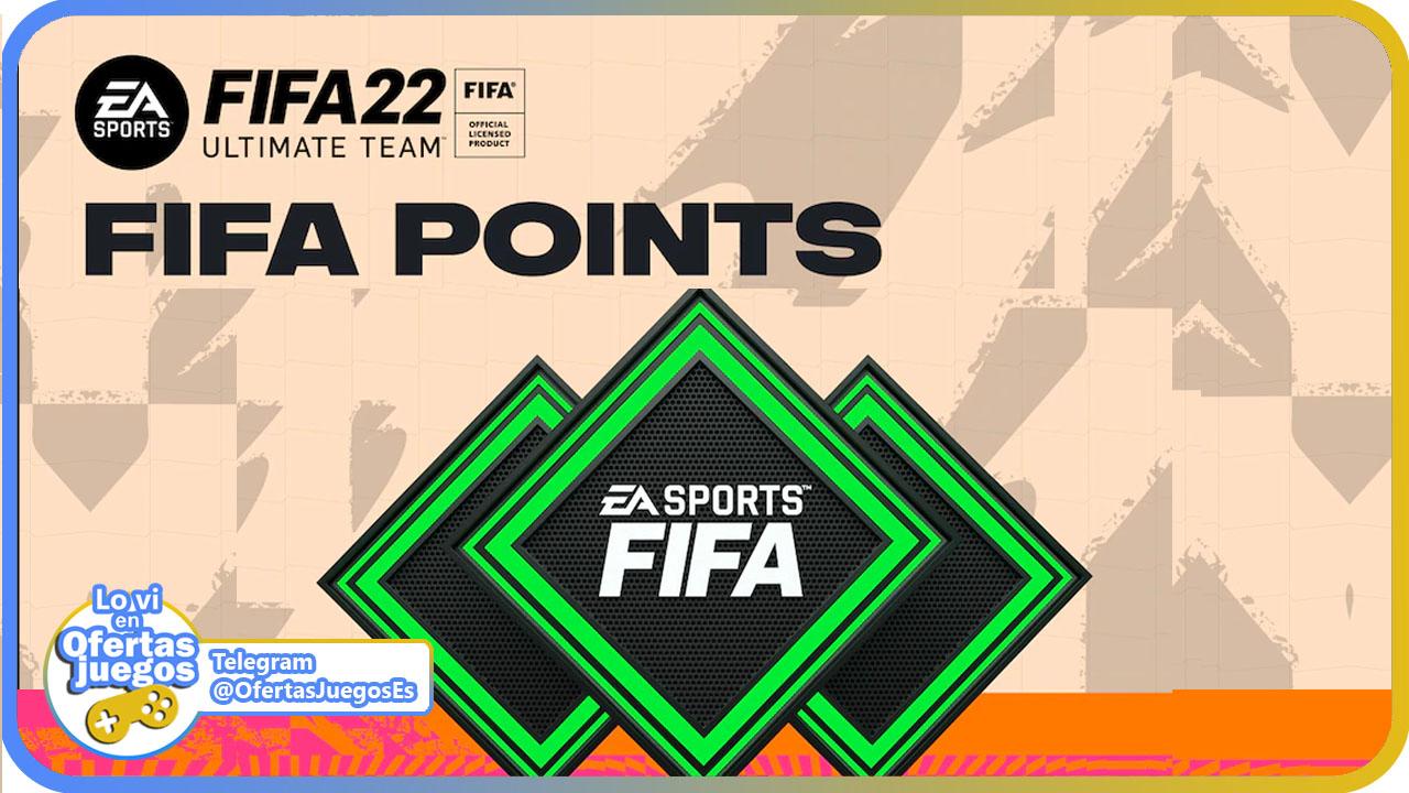 Compra tus monedas FIFA Points para FIFA 22 baratas y al mejor precio
